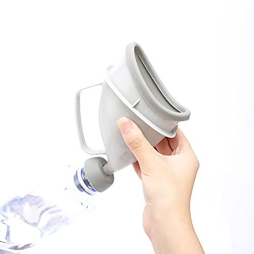 Urinario Femenino Exterior FemeninoEmergencia Campo Urinario de pie Urine Female Dispositivo de Urinación Orina Orinar de Pie Portátil Mujer Viajar Camping Senderismo Servicios Baños Públicos