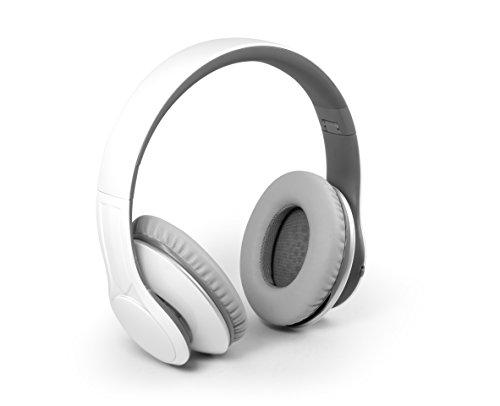 MusicMan BT-X15 BigBass Bluetooth-Kopfhörer weiß