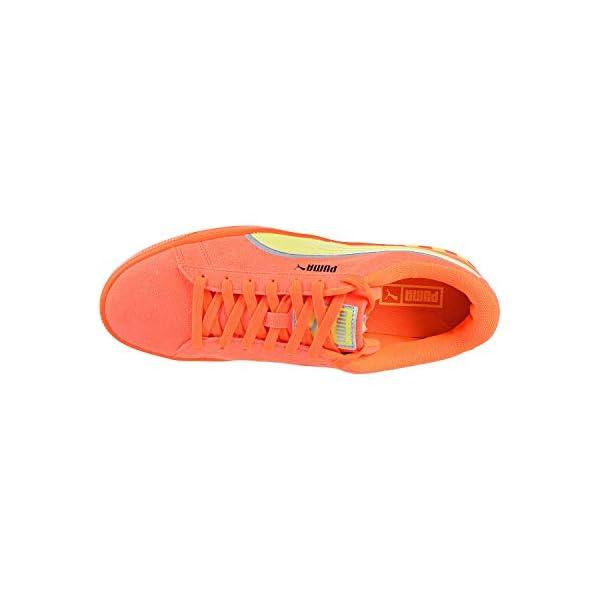 PUMA Men's Hazard Orange Sneaker