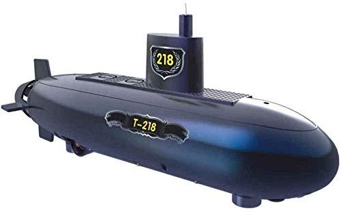 L&WB Submarino Eléctrico Recargable para Niños Y Adultos Juguete De La Manía Regalo Divertido RC Mini-Submarino De 6 Canales De Control Remoto Modelo De Barco De RC Buque Submarino S Niños