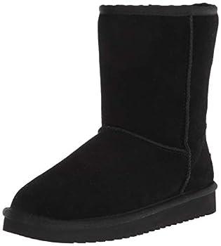 Koolaburra by UGG womens Koola Short Fashion Boot Black 8 US