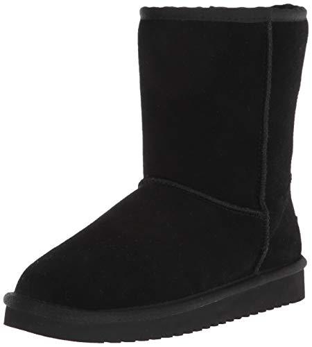 Koolaburra by UGG womens Koola Short Fashion Boot, Black, 8 US