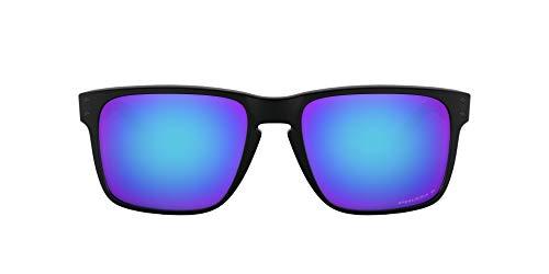 Oakley Men's OO9417 Holbrook XL Square Sunglasses, Matte Black/Prizm Sapphire Polarized, 59 mm
