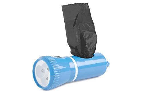 Ancol Lampe avec distributeur de sacs ramasse-crottes