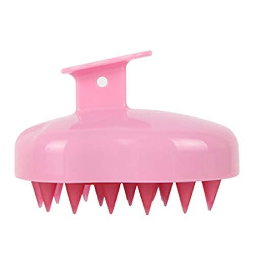 xllLU WEDFTGF Masajeador de pelo de silicona para el cuero cabelludo, cepillo para la cabeza, cepillo para caspa, limpieza profunda para mujeres, hombres o mascotas