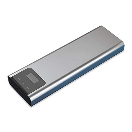 xiaoxioaguo Móvil sólido 128G de alta velocidad tipo cUSB3.0 de cifrado de huellas digitales portátil disco duro externo