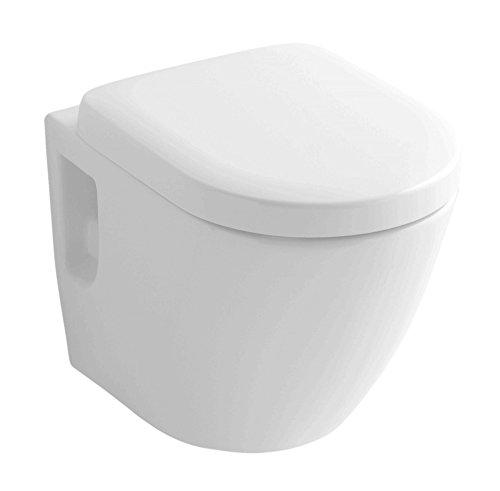 TOTO WC suspendu CW762Y + TOTO VC100N Siège + abattant WC avec système de chasse d'eau...