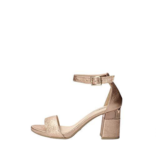 Sandalo da Donna NeroGiardini in Pelle PHARD E012860D. Scarpa dal Design Raffinato. Collezione Primavera Estate 2020. EU 37