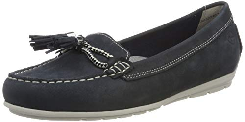 Tamaris Damen 1-1-24602-22 805 Slipper, Blau (Navy 805), 38 EU