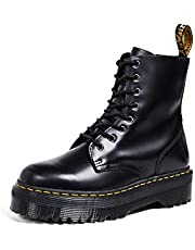 Dr. Martens Jadon Black Polished Smooth, Brogues Mixte