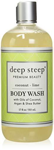 Deep Steep Body Wash, Coconut Lime, 17 Ounce
