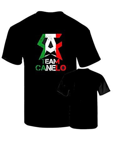 B & C Camiseta Canelo Mexico Boxeo Campeon Algodon Calidad 190grs (L)