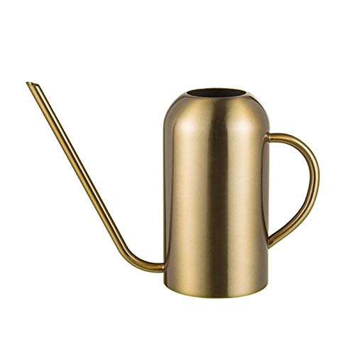 Stainless Steel Watering Can with Long Spout 53oz/1.5L Modern Style Watering Pot indoor watering can long spout