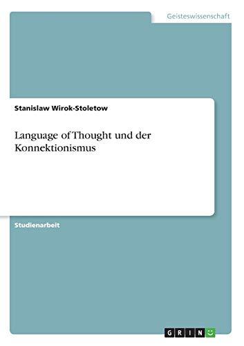 Language of Thought und der Konnektionismus