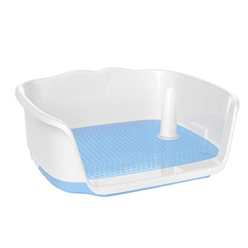 RYANWC Zandbak voor honden, toilet, toilet, binnen, kunststof, vuilafstotend, voor huisdieren, fluiten, wastafel
