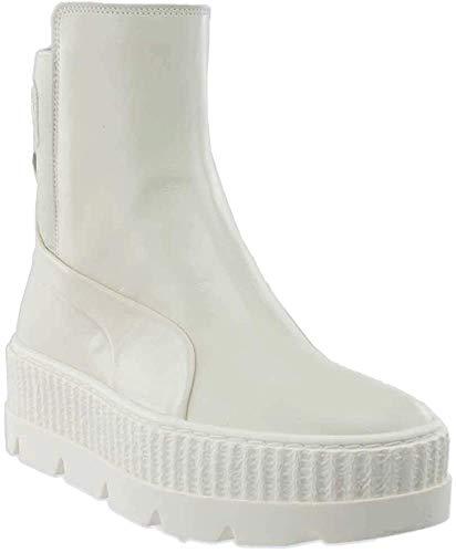PUMA Women's Fenty x Chelsea Sneaker Boots, Vanilla, 9 M US