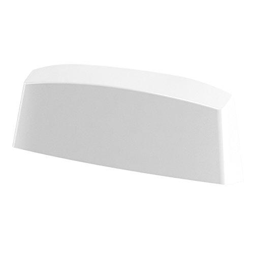 B-H Wasserschlitzkappen 45mm Weiß RAL 9016 für Schlitzfräsungen von 29-33 x 4,6-5 mm, 25 Stück Pack