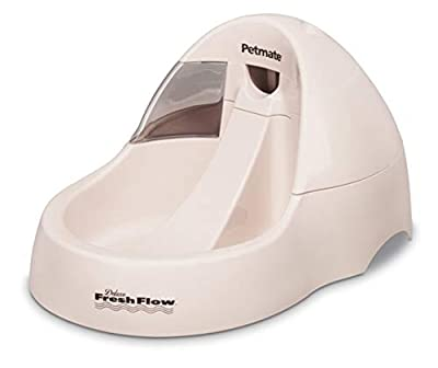 Petmate Deluxe Fresh Flow Dog and Cat Water Fountain 3 Sizes