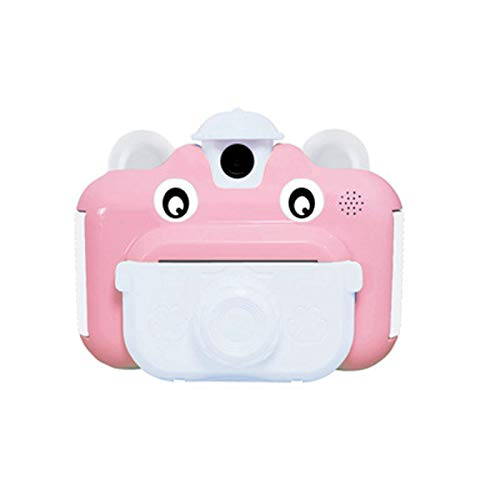 DZC Cámara de impresión Infantil Recargable USB, cámara de impresión WiFi 1080P Cámara de Video HD con Pantalla de 2,4 Pulgadas, Camara para niños Selfie Cámara de Juguete con Tarjeta TF de 32GB