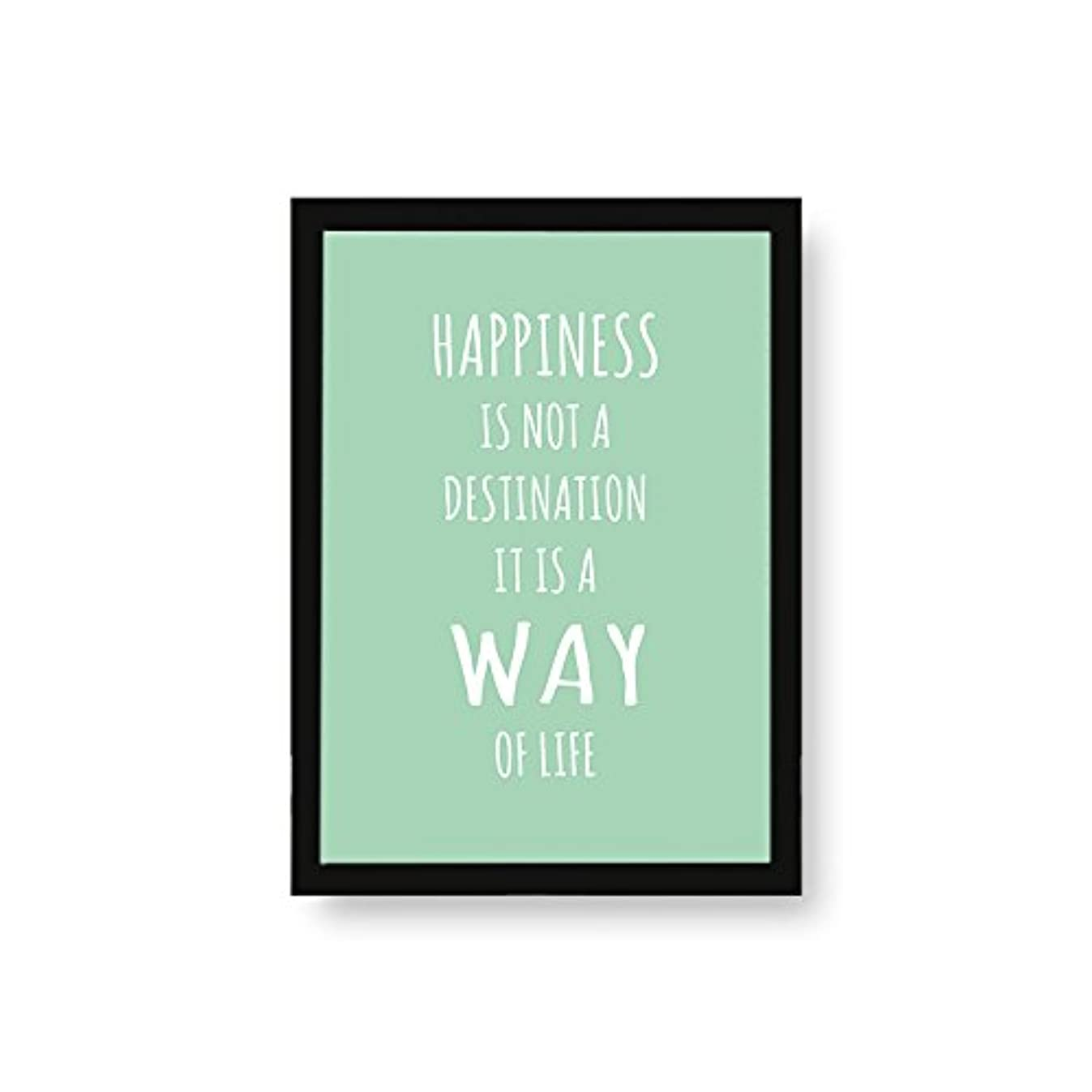 Kenay Home Art Happiness A3, Paper, Mint, 297?x 420?mm