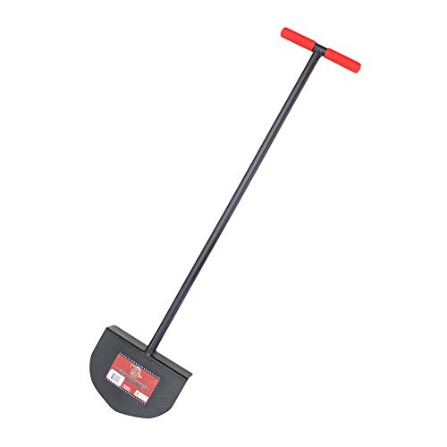 Bully Tools 92251 Round Lawn Edger with Steel T-Style Handle