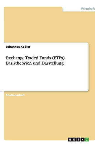 Exchange Traded Funds (ETFs). Basistheorien und Darstellung
