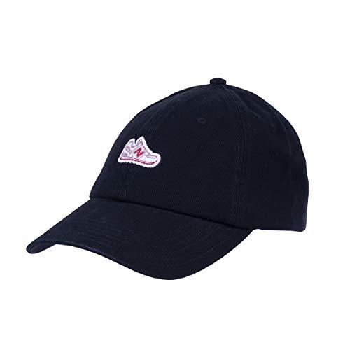 New Balance Adult Cotton Twill Classic 6-Panel Dad Hat, Black
