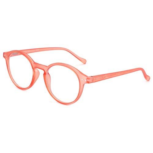 ZENOTTIC Blue Light Blocking Reading Glasses Anti Glare Lens Lightweight Frame Eyeglasses for Men and Women