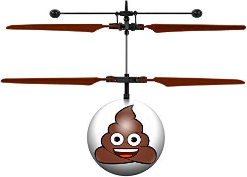 Poop Emoji IR UFO Ball Helicopter IR UFO Ball Helicopter