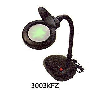Desktop Magnifier Lamp 3x w/8x bifocal 3'glass lens
