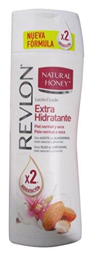 Natural Honey Loción Corporal Extra Hidratante con Aceite de Almendras, Miel y Glicerina 400ml
