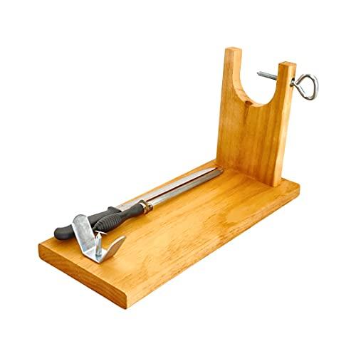 Loubren Ham-02, Tabla para Cortar Jamón con Cuchillo y...