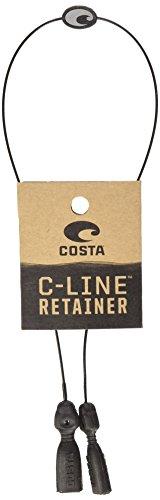 Costa Del Mar Unisex-Adult Costa C-Line Retainer Leash, Black, 20in