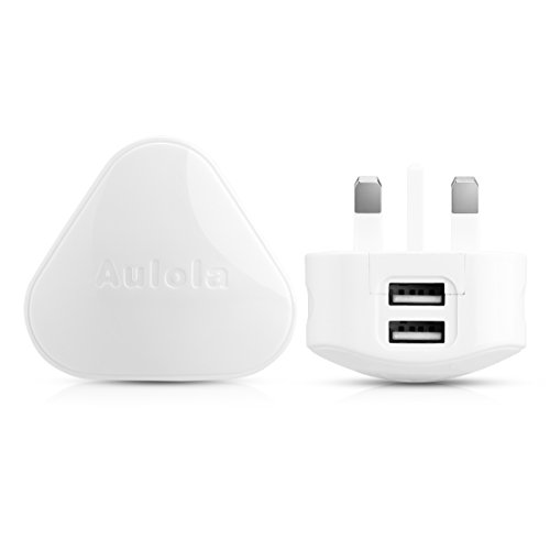 Dual USB Mains Charger,UK USB Charging Plug for Android tablets iPad 1st 2nd 3rd 4th Mini Air iPods Samsung / Lenovo / Sony / ASUS iPhone 4/4S 5/5S 6 Samsung S3 S4 S5 Note 3 / Nokia / Motorola / HTC / BlackBerry / LG MP4/3 Players iPods