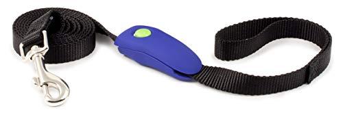 PetSafe Clicker Training Clip Clik-R pour Laisse - Outil de dressage Professionnel pour Chien à Fixer sur la Laisse, Revêtement caoutchouc antidérapant, pour chiots à partir de 8 semaines