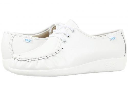 SAS(サス) レディース 女性用 シューズ 靴 オックスフォード 紳士靴 通勤靴 Siesta – White 7.5 W – Wide (C) [並行輸入品]