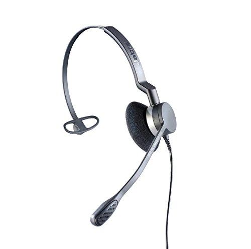 Agfeo Headset 2300 Monophon Kopfband Silber - Headsets (Monophon, Kopfband, Silber, Verkabelt, Ohrumschließend)