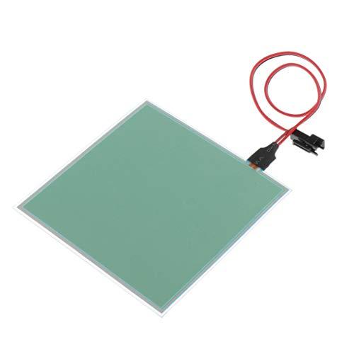 B Baosity Hochwertig Elektrolumineszente Panel 100x100 mm, EL-Panel, Gesundheit und Ungiftig - Blau