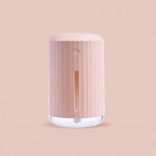 WZHZJ 320ml La aromaterapia humidificador Ambiente Colorido de Aire Ligero Aroma difusor de aceites Esenciales con el USB del Ventilador y la luz de la Noche (Color : B)