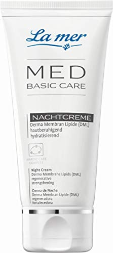 La mer MED Basic Care Gesichtscreme Nacht ohne Parfüm 50 ml