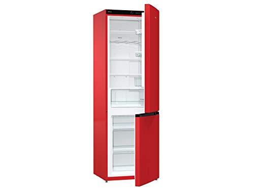 NRK 6192 CRD4 Stand Kühl-Gefrier-Kombination Fire Red Kühlschrank Gefrierschrank