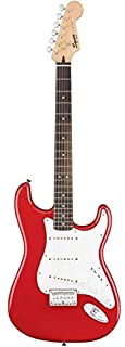 Fender Squier MM Stratocaster HT Electric Guitar - Red