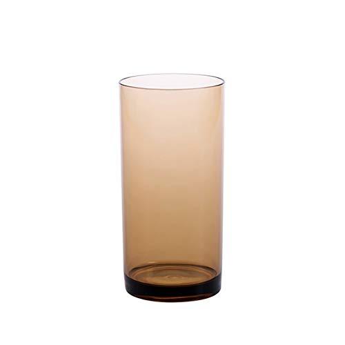 XVXFZEG Creativa Espesado Transparente Cepillado Copa Baño Vaso Copa irrompible Dental Enjuague Copa, Cepillo de Dientes Organizador for Niños y Adolescentes Niños anticaída Taza plástica de Bebida
