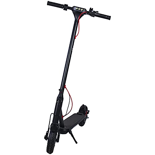 Swoop Patinete Electrico Adultos ES400X 250W 36V 6.0Ah Scooter Eléctrico Plegable Pantalla...
