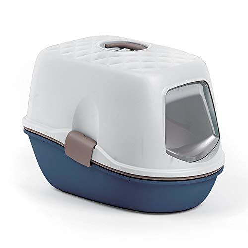 Stefanplast Toilette FURBA Top Chic Colore Blu Navy E Bianco