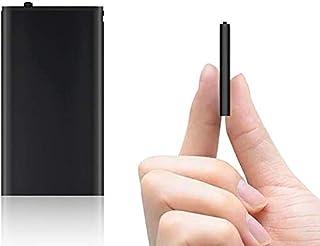 Mini digitaal dicteerapparaat, 16 GB, audio-opnameapparaat met stemactivering, 192 uur, one-touch-opname, MP3, opnameappar...