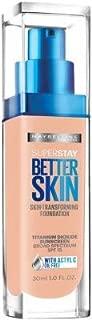 Maybelline New York SuperStay Better Skin Foundation, Nude Beige 1 oz (Pack of 2)
