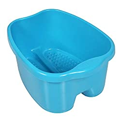 over-sized tub for sore, aching feet