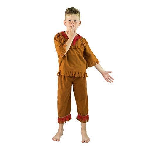 Bodysocks® Disfraz de niño Indio (7-9 años)