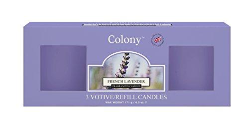 Kolonie BX/3Refills French Lavender, Blau